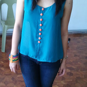 Outfit : Loving Blue Green