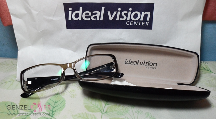 Ideal Vision Glasses Frames : She Sings Beauty by Gen-zel Habab HAUL Random for the ...