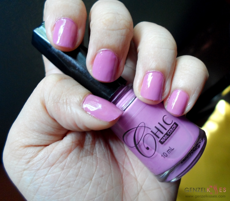 On My Nails | Chic Nail Color in Neon Purple - Gen-zel - She Sings ...