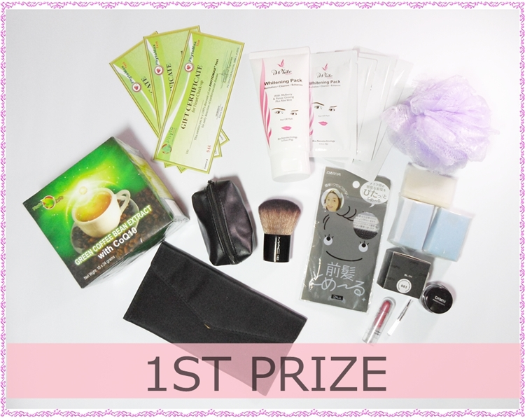 Trio Beauty Giveaway - 1st Prize
