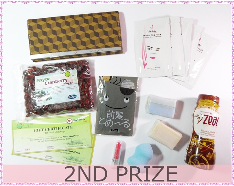 Trio Beauty Giveaway - 2nd Prize