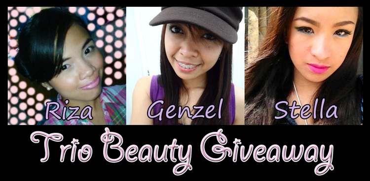 Trio Beauty Giveaway - Genzel Kisses