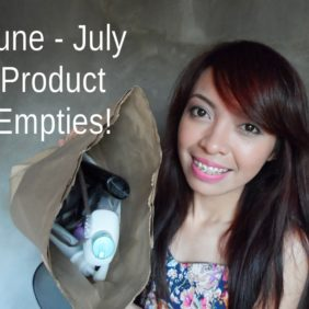 June and July Product Empties!