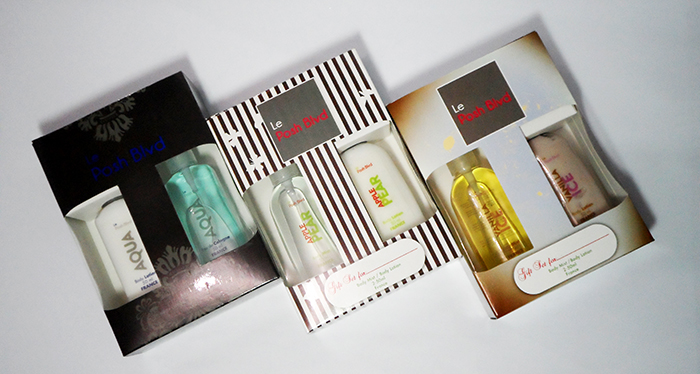 Le Posh Blvd Scents and Lotions