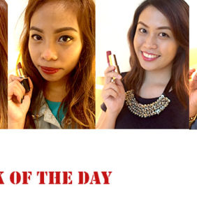 Lipstick of the Day with fellow Beauty Bloggers!