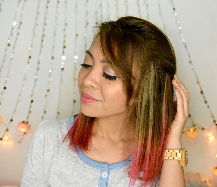 My pink ombre hair by d xpert salon and spa makati giveaway my pink ombre hair by d xpert salon and spa makati giveaway solutioingenieria Images