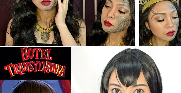Easy Halloween Makeup Tutorials - Game of Thrones House Baratheon - Mavis Hotel Transylvania - Gen-zel.com (c)
