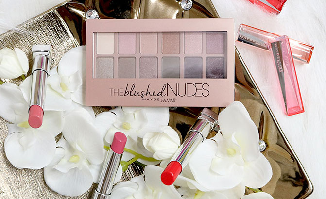 Maybelline The blushed nudes review - maybelline lip flush review