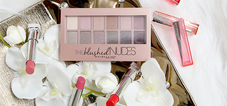 Maybelline Blushed Nudes Swatches Review - Gen-zel.com(c)