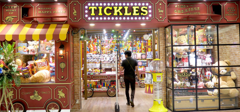 TICKLES - SM Megamall