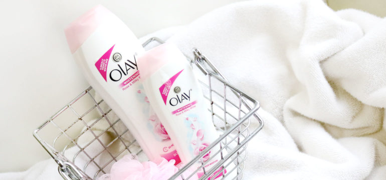 Olay Whitening Rose and Milky White Body Wash - She Sings Beauty by Gen-zel