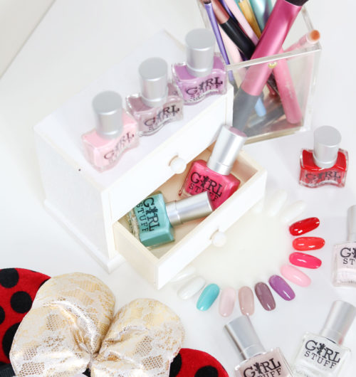 Girlstuff Minnie Mouse Nail Lacquers Collection Review Swatches Photos - Gen-zel She Sings Beauty